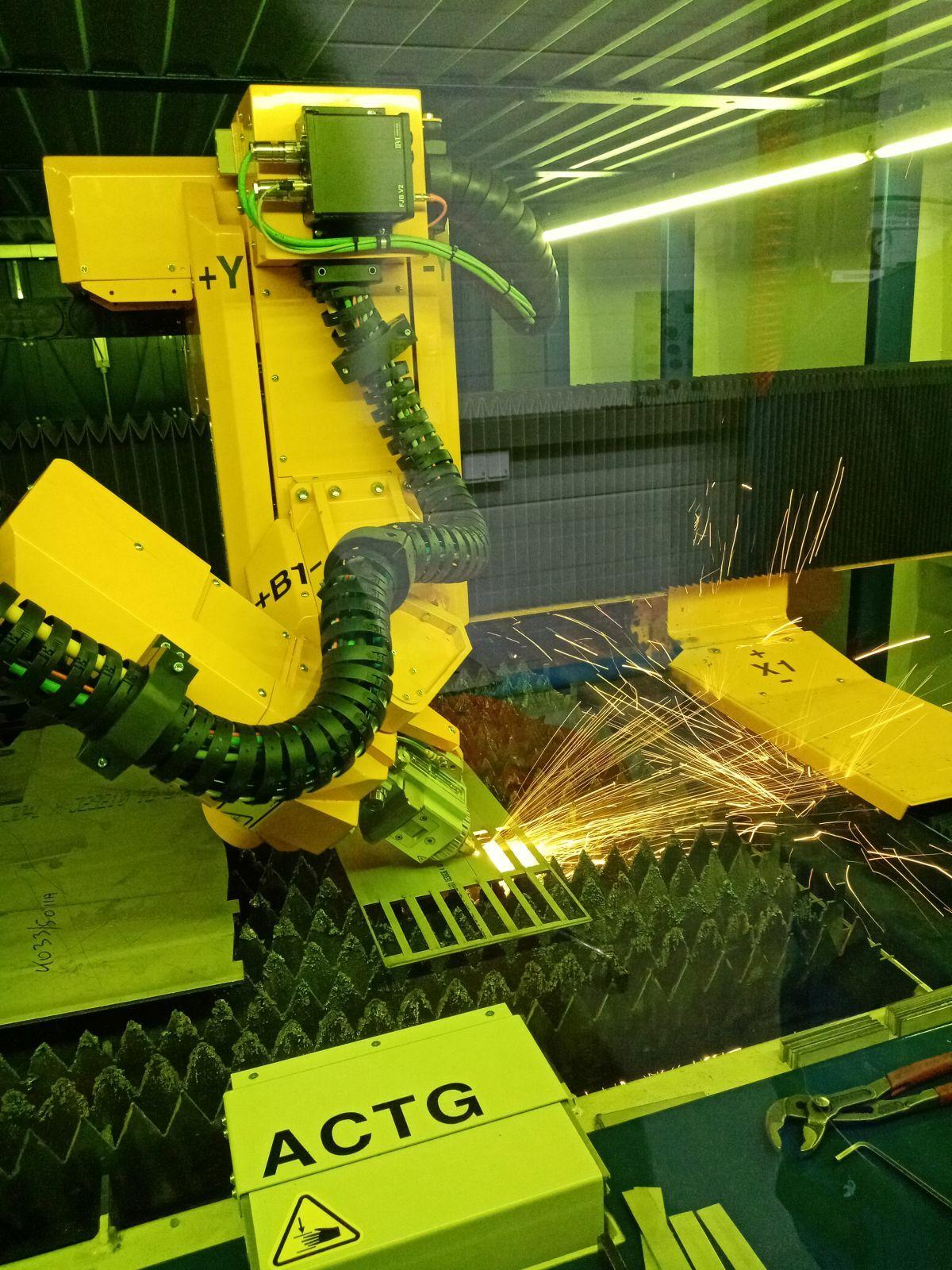 Lázervágás 3D-ben, csővágás lézerrel